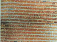 Set 10 Of Two (2) Brick Walls Decals 1:18- 1:24 Scale Diorama