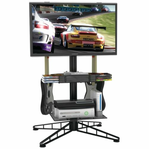 Atlantic Spyder TV Gaming Stand in Black 88307053 New