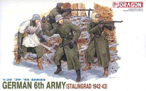 1:35 Dragon #6017 German Infantry 6th Army Stalingrad /'42-/'43