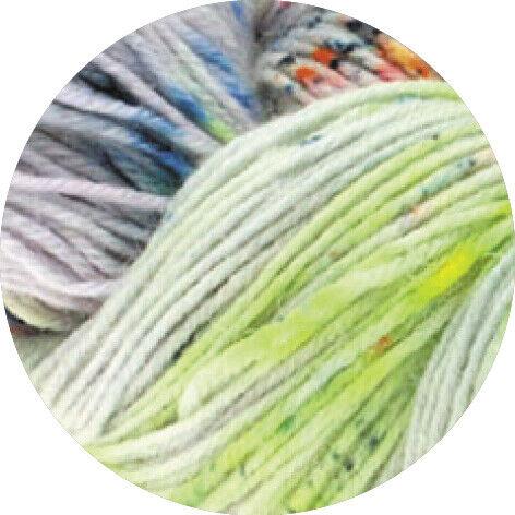 lana Grossa-kilómetros 100 merino mano Dyed-FB 302 100 G Lana creativo