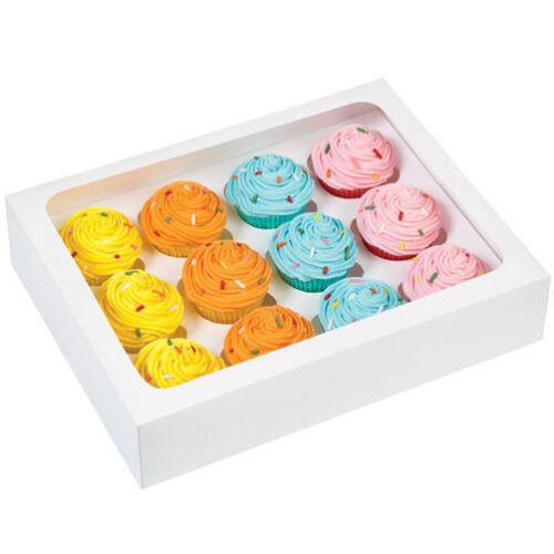 Mini Cupcake Boxes 12 Inserts X3 PACK Wilton CUPCAKE SWEET MAKING Free Postage
