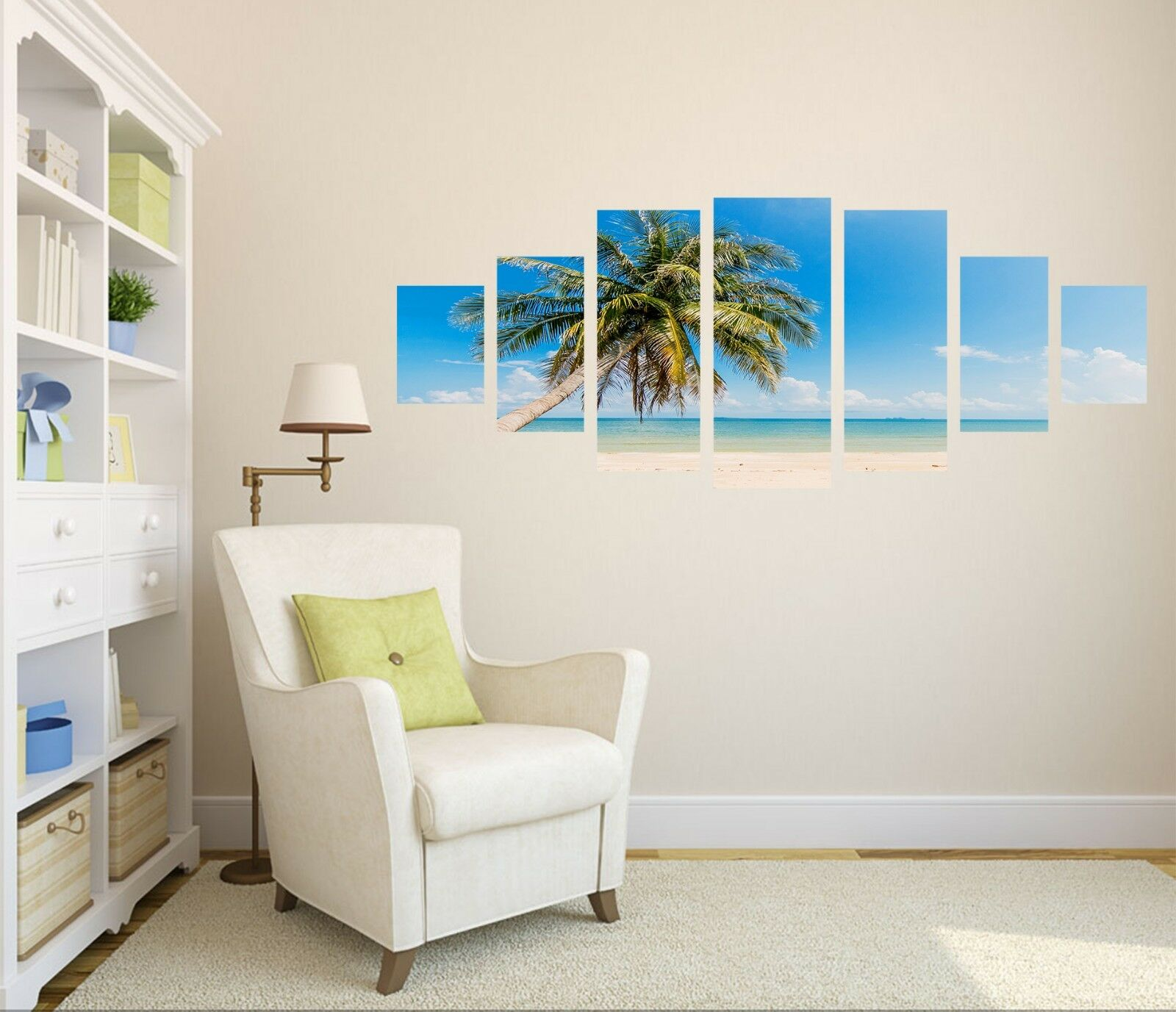 3D Beach Coco 752 Unframed Print Wall Paper Decal Wall Deco Indoor AJ Wall Jenny