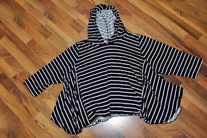shirt Myo Couches Capuche° Zipfel tunika glocken aspect Mini streifen° pggqxHX