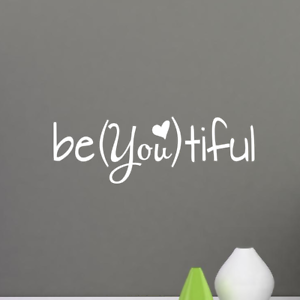 BE-YOU-TIFUL-Quote-Vinyl-Wall-Decal-Lettering-Decor-Sticker-Nursery-BEAUTIFUL