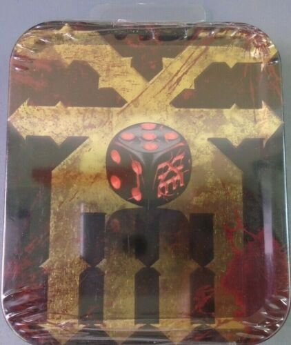 Unreleased Games Workshop Warhammer The End Times Chaos Dice Khorne Tin BNIB New
