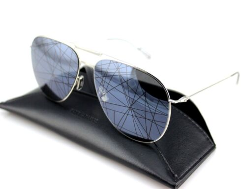 a95657db598 9 of 12 RARE NEW Genuine DIOR HOMME 0205S Palladium Black Mirror Pilot  Sunglasses 84J MD