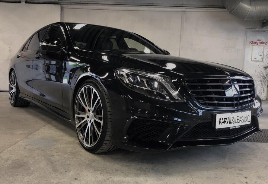 Mercedes S63 5,5 AMG aut. 4Matic lang 4d