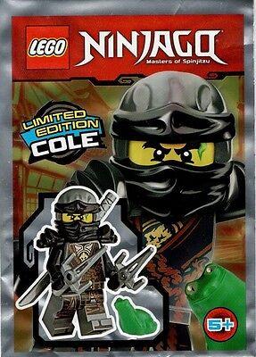 Lego®  Ninjago Minifiguren Foilpack Cole 891727 Neu