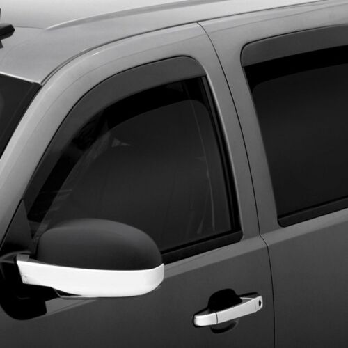 For Cadillac Escalade ESV 07-14 Window Deflectors Tape-On Low Profile Ventvisor