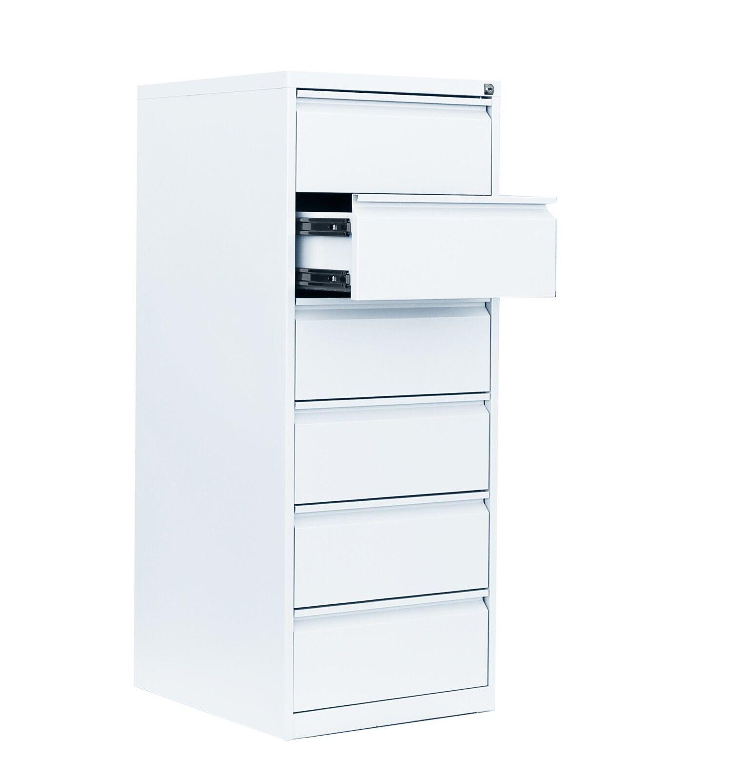 Karteischrank Karteikartenschrank Weiß DIN A5 zweibahnig 6 Schubladen 565627 | Vorzügliche Verarbeitung  | Passend In Der Farbe  | Spielen Sie das Beste