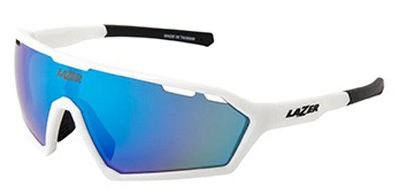 Lazer Walter Sunglasses Gloss  White (bluee, Yellow, Clear Lenses)  online sale