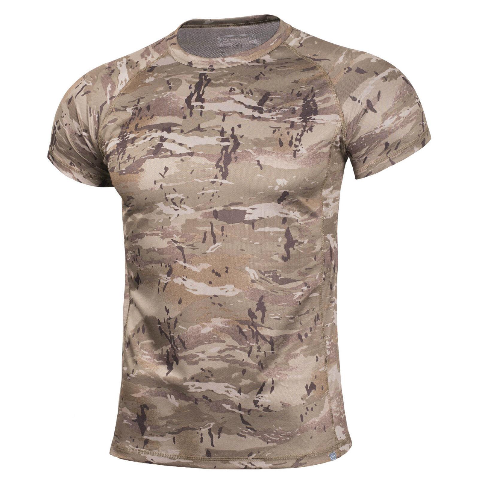 Pentagon Jersey-T-Shirt Mann Rundhalsausschnitt Tarnung angepasst slim fit Body