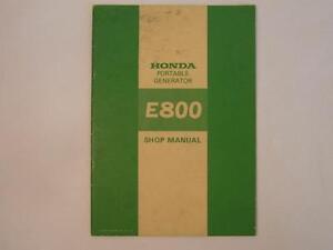 Honda-Shop-Manual-Portable-Generator-E800