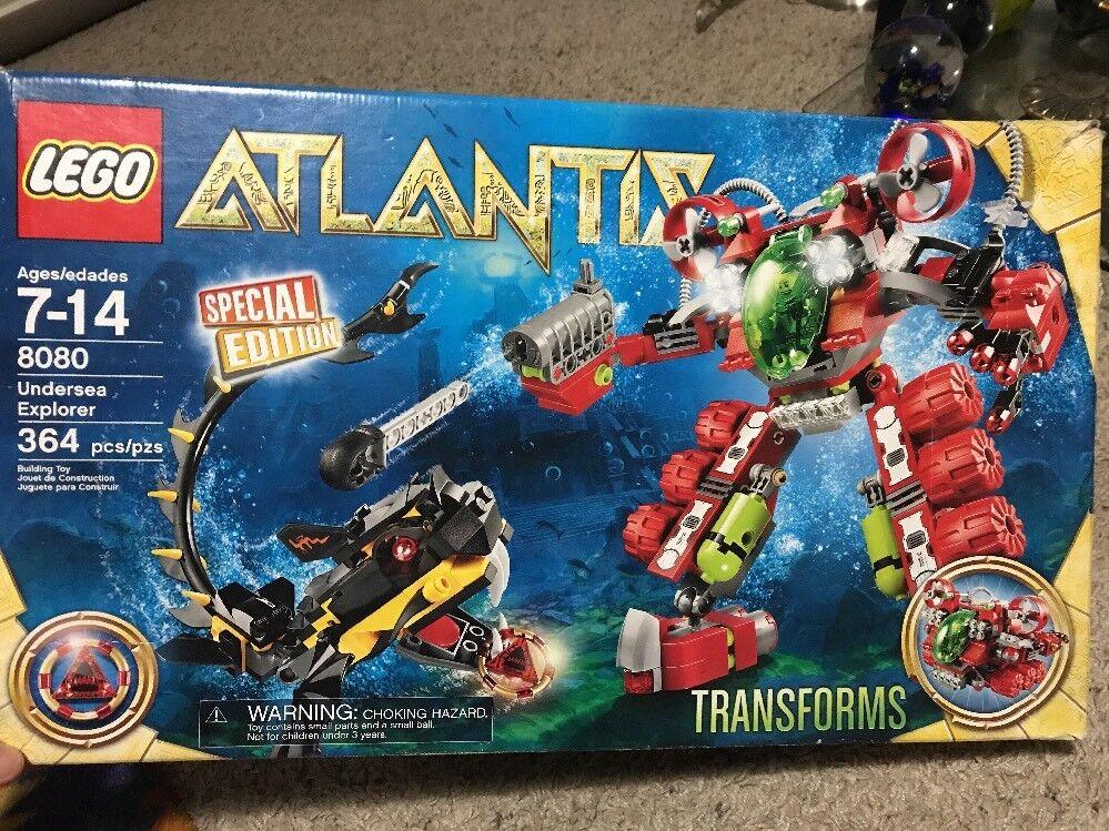 LEGO ALANTIS Transforms Special Edition   8080 Under See Explore 364 Pcs