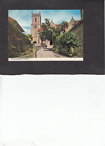 Postcard-View-of-St-Leonards-Church-Hythe-Kent-c1960-039-s