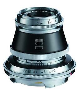 Voightlander-Fixe-Focus-Objectif-Heliar-Vintage-Ligne-50mm-F3-5-VM-Support-Neuf