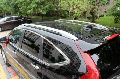 Silver Roof rack side Rail luggage carrier Bars For Honda CR-V CRV 2013-2016