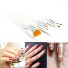 15 Pcs Lady Nail Art Acrylic UV Gel Design Brush Set Painting Pen Tips Prop Top
