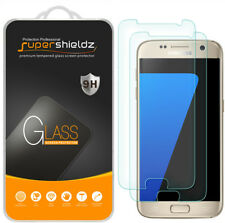 2x Supershieldz Tempered Glass Screen Protector for Samsung Galaxy S7