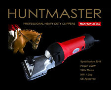 New horse/yard clippers, heavy duty with comb attachments and 2 sets blades