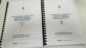ferrari 456 gt workshop manual reprinted wiring diagrams are for rh ebay co uk ferrari 456 gt wiring diagram