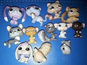 AgréAble Lps Littlest Pet Shop Lot Souris, Lapin, Et Autres