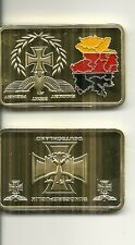 RARE / MEDAILLE LINGOT - GERMANY AIGLE PRUSSIEN : IRON CROSS / COULEUR OR GOLD