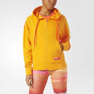 fantastic savings new lifestyle coupon code Details zu Adidas Womens Stellasport Zip Mesh Hoodie Stella McCartney Sport  Gym 2XS, XS