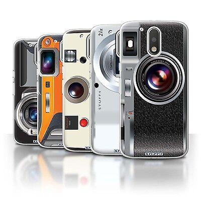 STUFF4 Phone Case/Back Cover for Motorola Moto G4 Plus 2016 /Camera