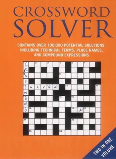 Bloomsbury Crossword Lists and Crossword Solver: AND Crossword Solver,Anne Stib