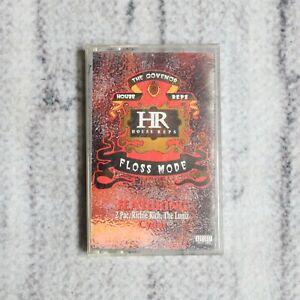 The Govenor Floss Mode Cassette Tape 1995 Bay Area Rap 2pac Richie Rich Luniz