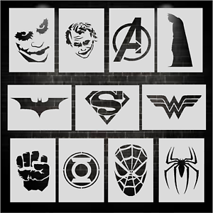 Super-Hero-Stencils