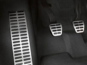 Original Audi Pedalkappen in Edelstahl für Fahrzeuge mit Automatikgetriebe