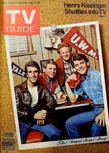 TV-Guide-1978-Happy-Days-Henry-Winkler-Ron-Howard-Don-Most-Anson-Williams-NM-M