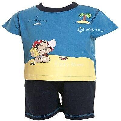 Baby Boys Gassata Moon Teddy Pirata Brevi Pigiami Età 1-3 Anni-mostra Il Titolo Originale