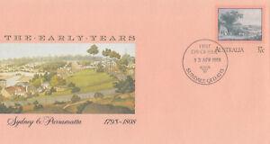 (13950) Australie Entiers Postaux Fdc Sydney & Paramatta 13 Avril 1988-afficher Le Titre D'origine Aussi Efficacement Qu'Une FéE