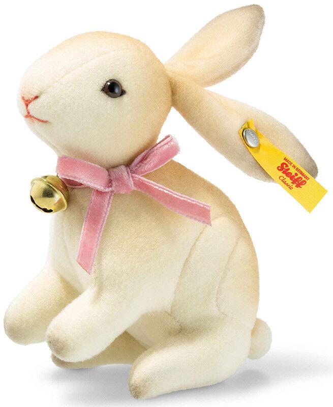Steiff Hazel Coniglio Crema in confezione regalo - 11 cm-ean 033049