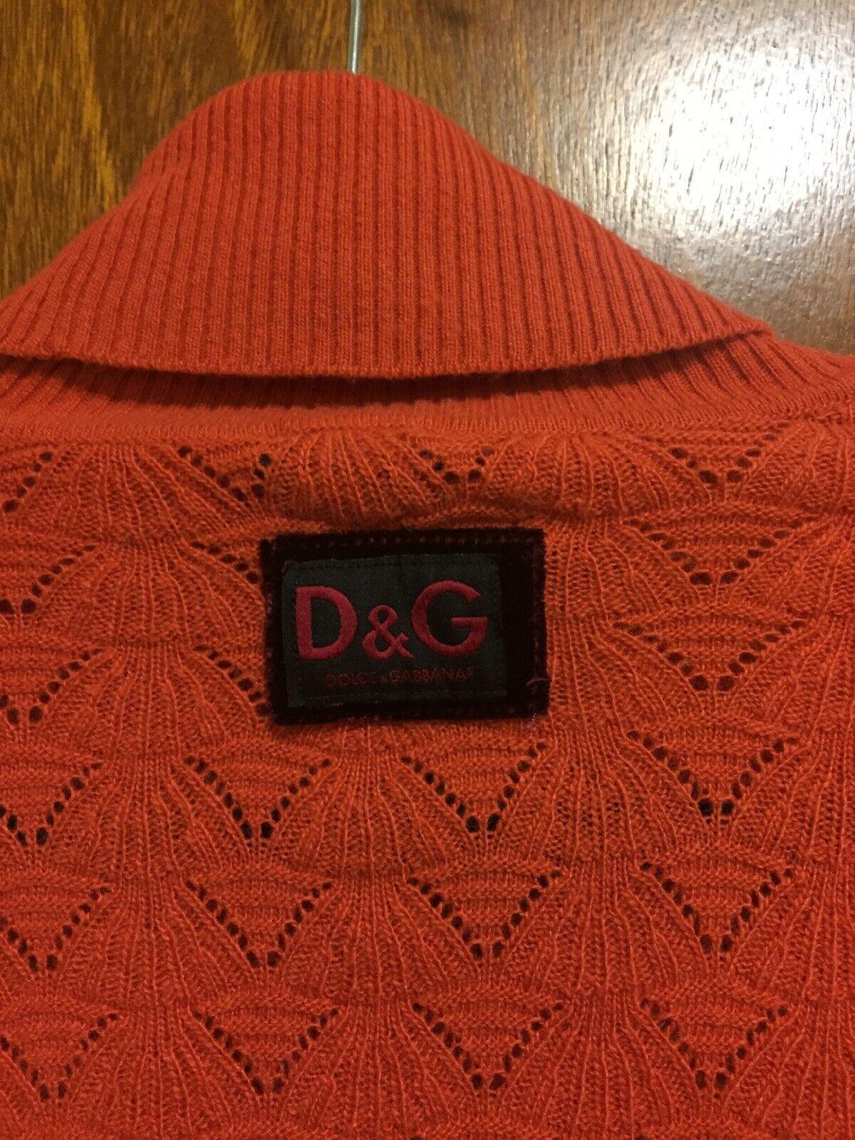 D&G DOLCE & GABBANA Wool Blend Turtleneck Knit Sw… - image 4