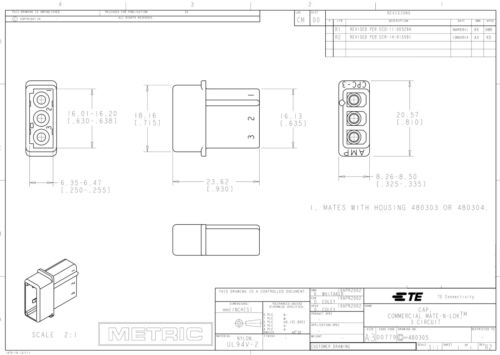 AMP Strobe 3 Pin BLACK Connector Power Supply Bulb Female N Male  for Whelen,