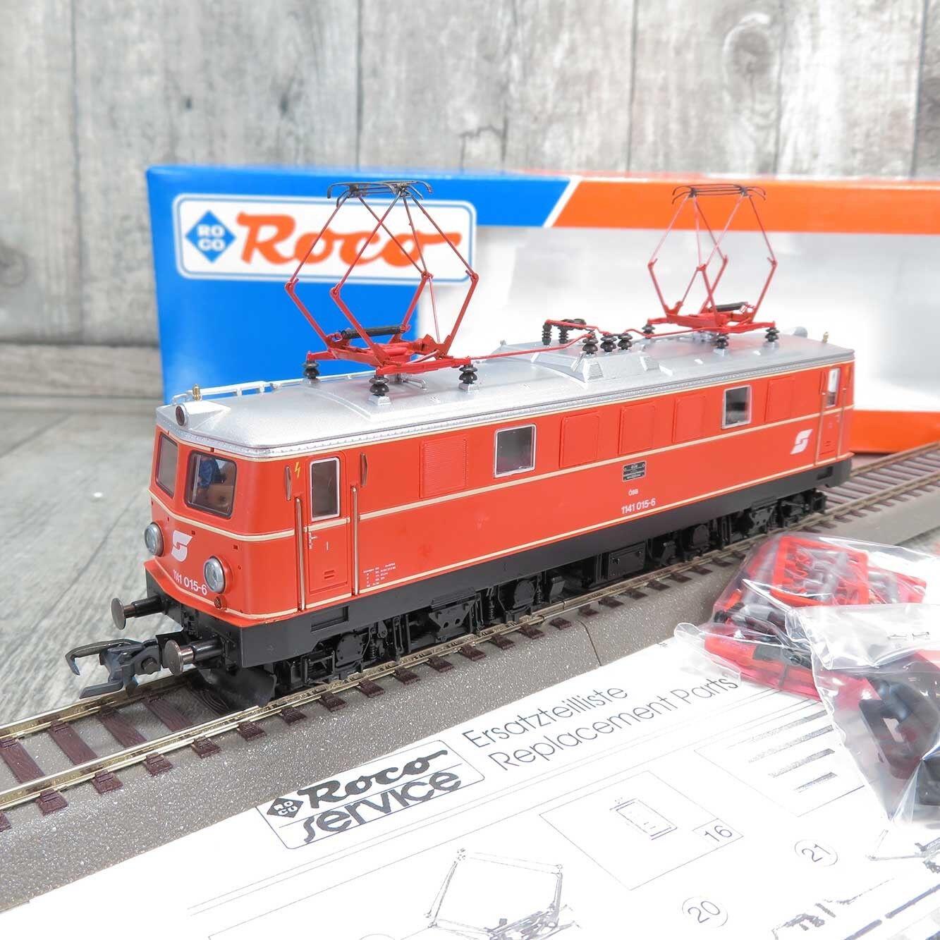 ROCO 63576 - HO - ÖBB - E-Lok 1141 015-6 - mit DSS -  B20952
