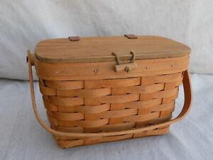 Vintage Small Purse Longaberger 1994 Basket