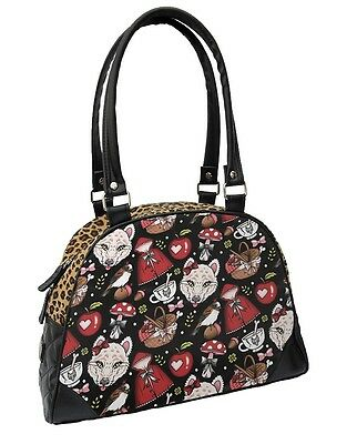 Liquor Brand Rockabilly Little Red Tattoo Bowling Leo Tasche