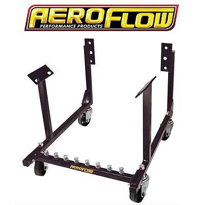 Aeroflow Heavy Duty Ford Engine Stand/Work Cradle Windsor/Cleveland V8 Motor