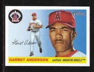 Garret Anderson Anaheim Angels 2004 Topps Heritage