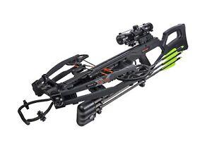 "Bear Archery Bear X Intense CD Black Crossbow RTH Package 400 FPS 10"" Wide"