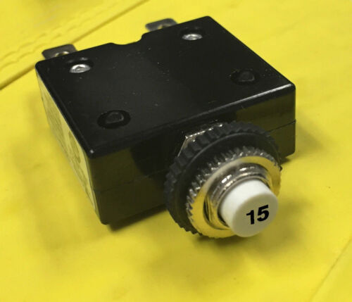 MORE Circuit Breaker Push Button Resettable Thermal Panel 5A//10A//15A//20A//30AMP