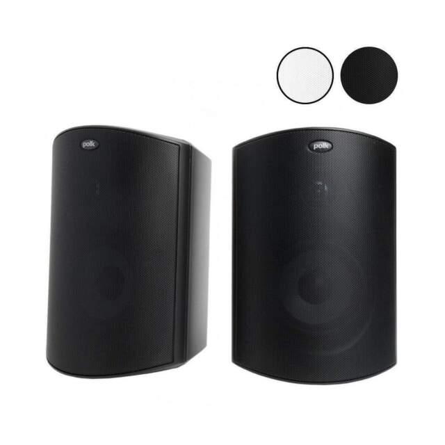 Polk Audio Atrium 6 All Weather Outdoor Speakers Pair - Black
