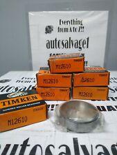 Timken M12610 Roller Bearing Cup Lot Of 6 Nos
