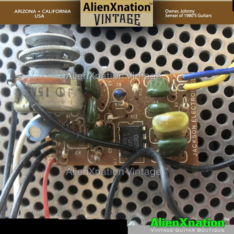 Vintage Jackson 5 way Switch Type JE-1200 Boost Circuit