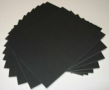 Pack of 50 11x14 UNCUT BLACK Matboard FREE SHIPPING